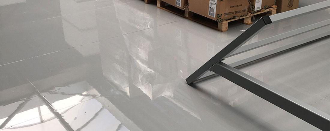 Industrievloer met epoxy coating