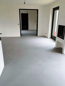 Microcement vloer Driel