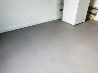 Microcement woonbeton schouw vloer