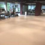 Cementgebonden gietvloer voor kantoor in  Amsterdam