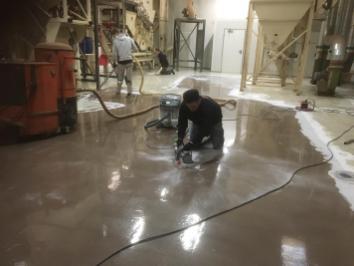 Full epoxy coating over stelconplaten