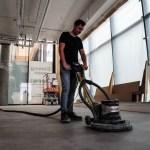 Unieke vloer: microcementvloer voor Open 32 Utrecht