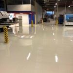 Fabrieksvloer: nieuwe epoxy gietvloer Zevenaar