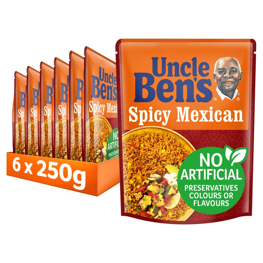 uncle bens spicy mexican microwave rice