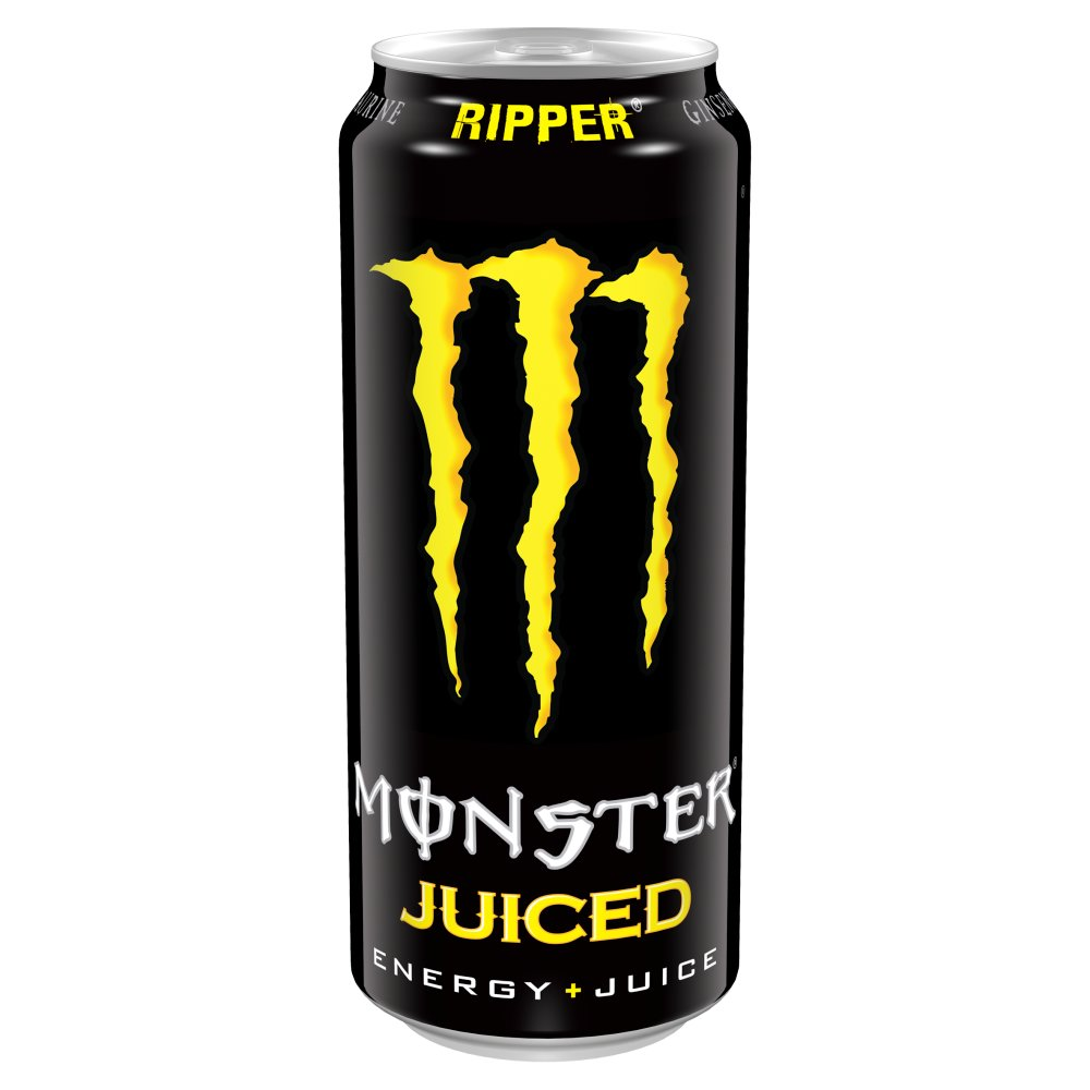 Monster Energy Ripper 500ml PMP 135  Bestway Wholesale