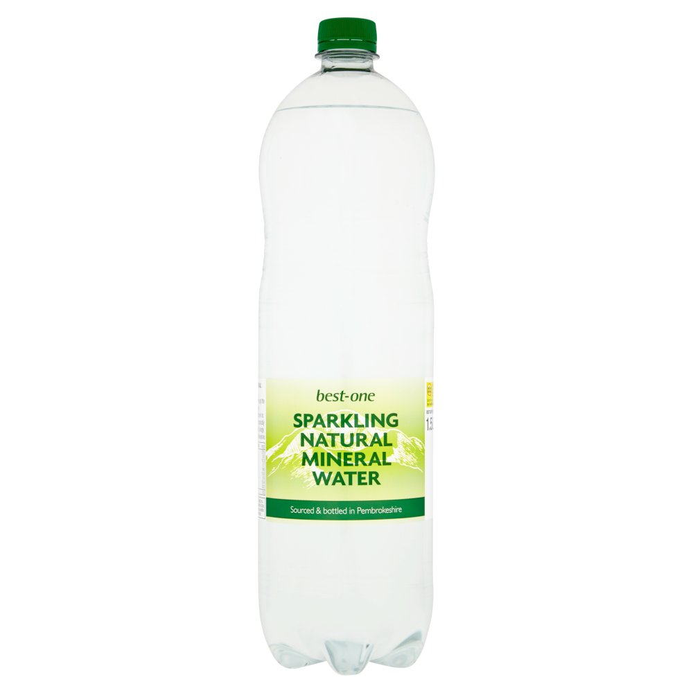 Best-One Sparkling Natural Mineral Water 1.5L   Bestway ...