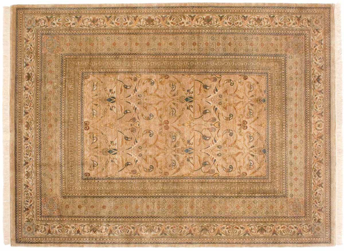 9 12 Art Nouveau Gold Oriental Rug 038769 Carpets By
