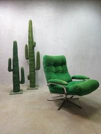 Mid century vintage design swivel lounge chair   Bestwelhip
