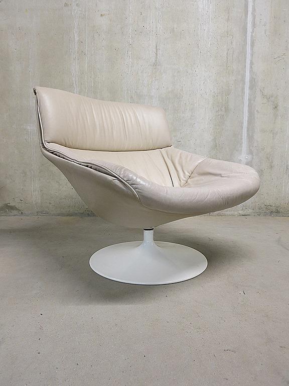 Artifort swivel chair lounge chair Geoffrey Harcourt F522