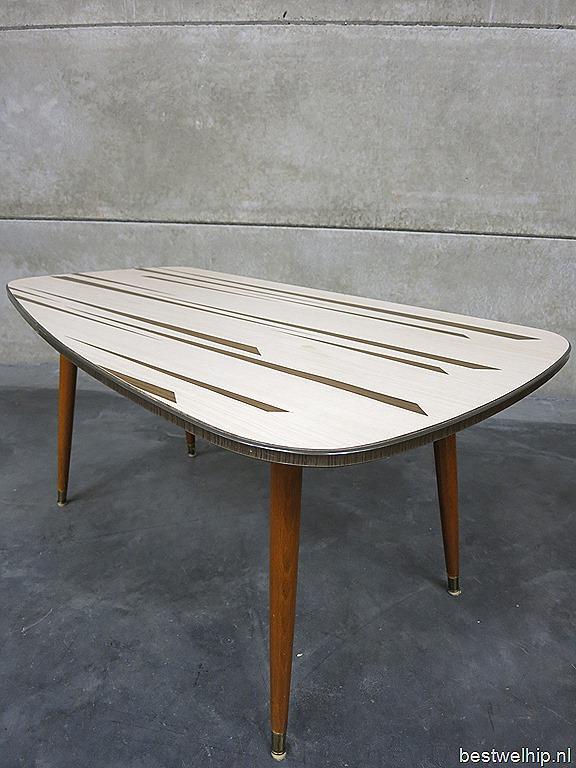 Fifties mid century design coffee table vintage design