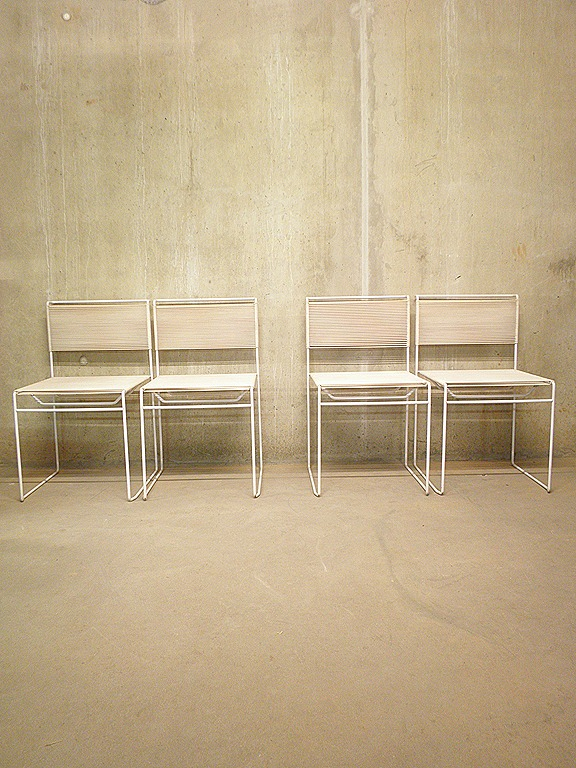 Vintage stoelen dining chairs GBelotti  Bestwelhip