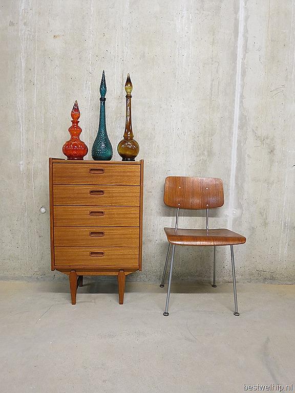 Mid century vintage design cabinet ladenkast Deens