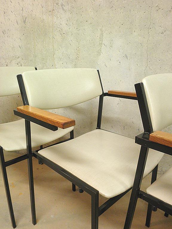 Martin Visser stoelen industrieel vintage Bestwelhip