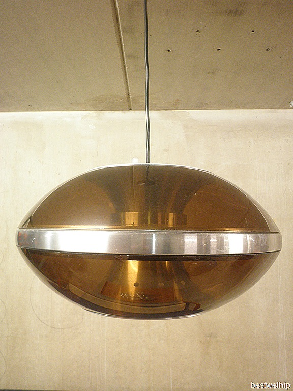 Retro vintage Space Age lamp UFO Dijkstra  Bestwelhip