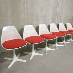 Desk Chair Retro Steelcase Jersey Brochure Arkana Tulip Dining Chairs Mid Century Modern Design | Bestwelhip