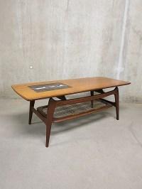 Coffee table mid century design Webe Louis van Teeffelen ...