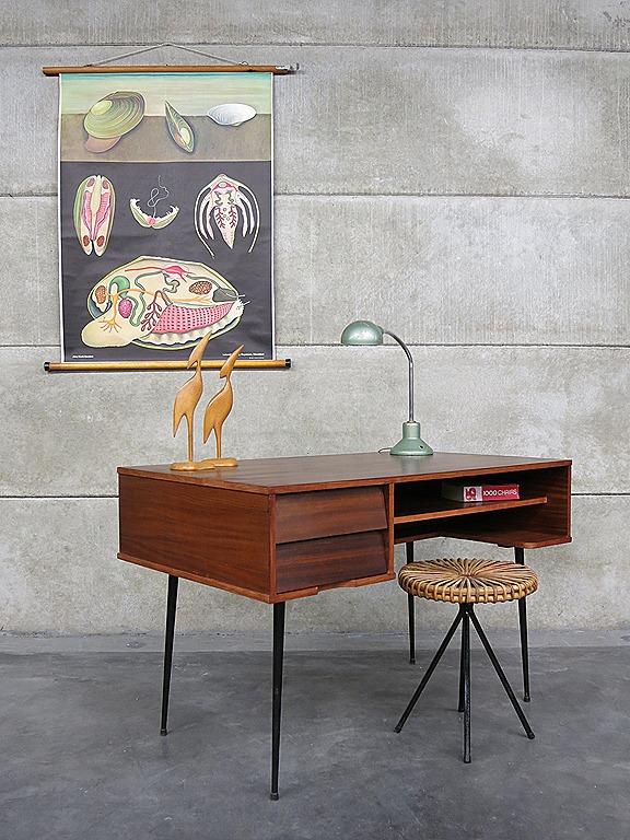 Industrial vintage desk Minimalism Mid century design