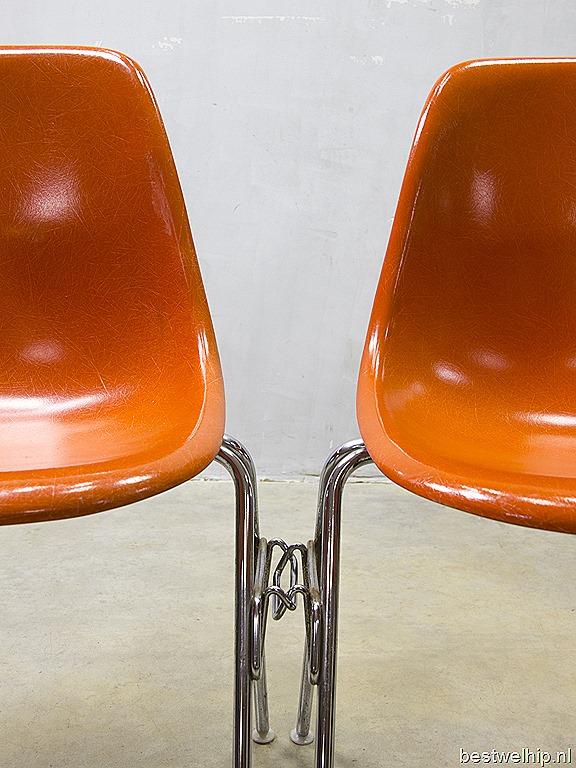herman miller eames chair replica wedding covers burton on trent original eetkamer stoelen, fiberglass shell chairs vitra | bestwelhip
