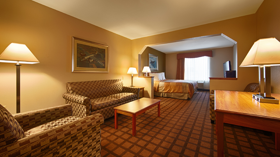 Chicago Hotel Rooms At The Best Western Midway Airport Hotel In Burbank IL