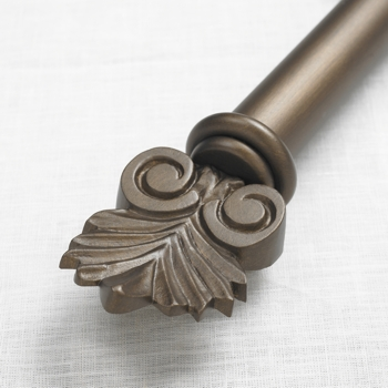 Outdoor 15 Iron Curtain Rod In 4 Finishes Extra Long Available