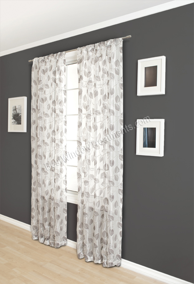 Claire Sheer Curtain Drapery Panels