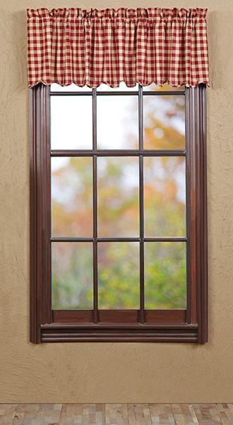 Black 27 Window Inch Valance
