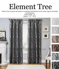 Element Tree Curtain Drapery Panels