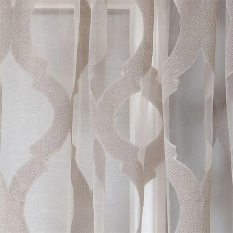 Estelle Burnout Sheer Curtain PanelLarge Scale Design