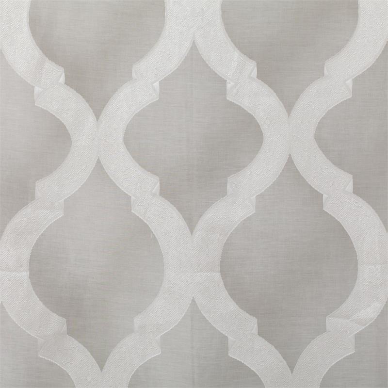 Estelle Burnout Sheer Curtain PanelLarge Scale Design