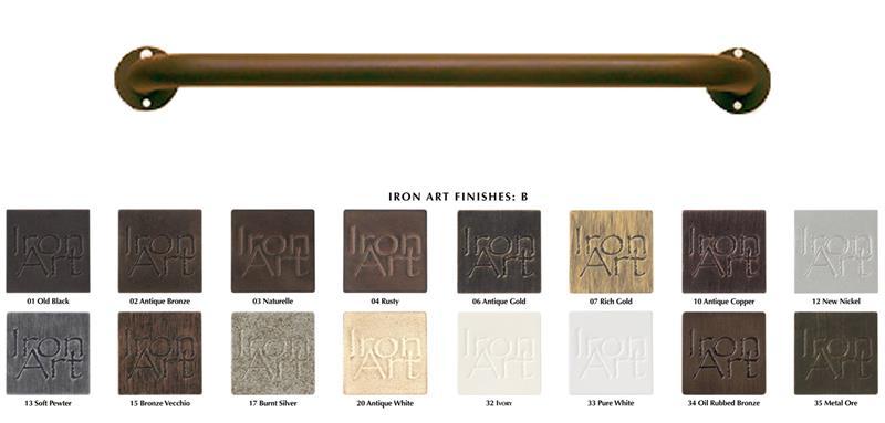 outdoor french return custom curtain rods 1 diameter iron art premium finishes bestwindowtreatments com