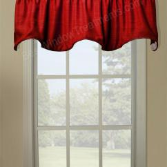 Swag Curtains For Kitchen Corner Upper Cabinet Hampton Duchess Filler Valance - Window Treatments
