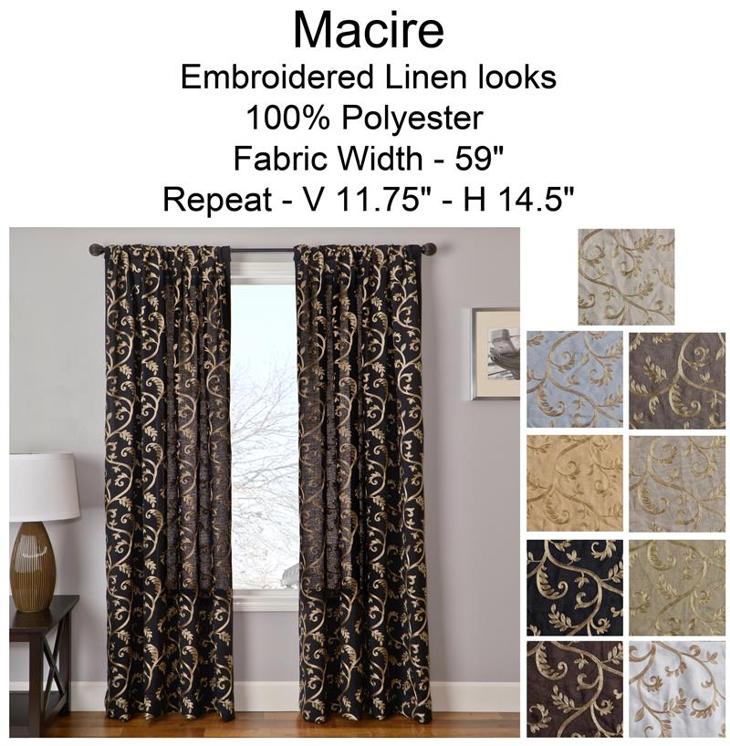 macire curtain panel available in 9 choices bestwindowtreatments com