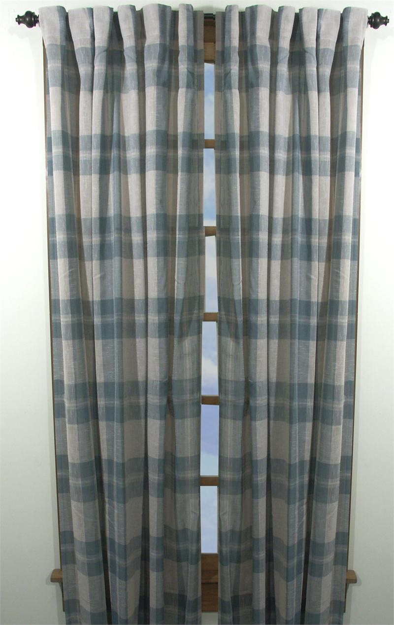 Shannon Plaid Curtain Panels