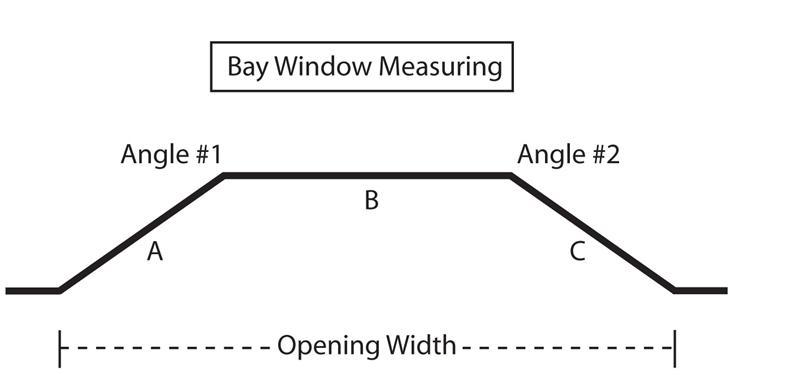 custom bay window 1 iron curtain rod featuring acorn finial bestwindowtreatments com