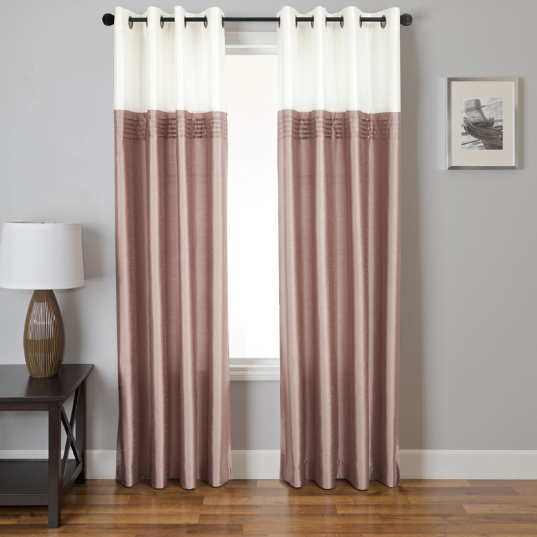 Montok Curtain Panel available in 3 colors