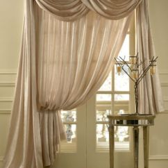Double Width Sheer Curtains