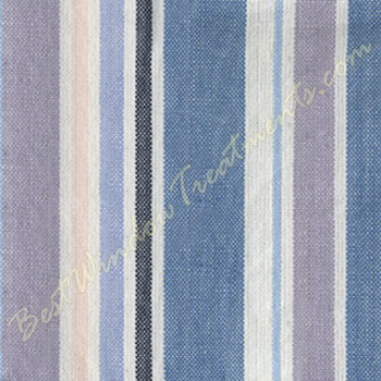 swag kitchen curtains brass hardware coastal stripe valance available in 4 colors