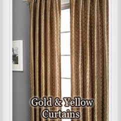 Yellow And Red Kitchen Curtains Island With Chairs By Color: Bestwindowtreatments.com