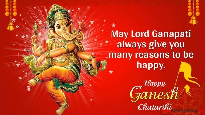 Happy Ganesha Chaturthi Messages