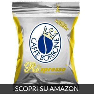 Caffè Borbone Respresso Miscela Oro-Capsule compatibili Nespresso