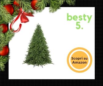 Albero di Natale artificiale da 210 cm Flora - Molto folto, di altissima qualità