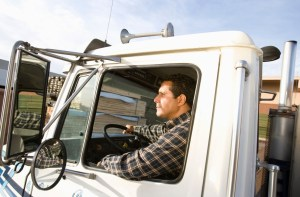 Hispanic truck driver, representing diversity in the trucking industry