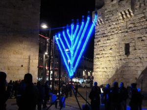 1280px-Old_Jerusalem_Jaffa_Gate_blue_hanukiah_closeup