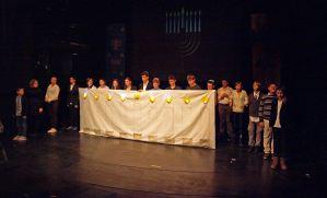 Školska priredba, za Hanuku i kraj prvog polugodišta 2013 / 2014