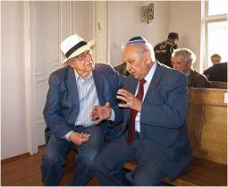 Branko Lustig i Slavko Goldstein