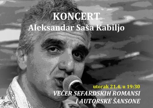 Koncert Saša Kabiljo