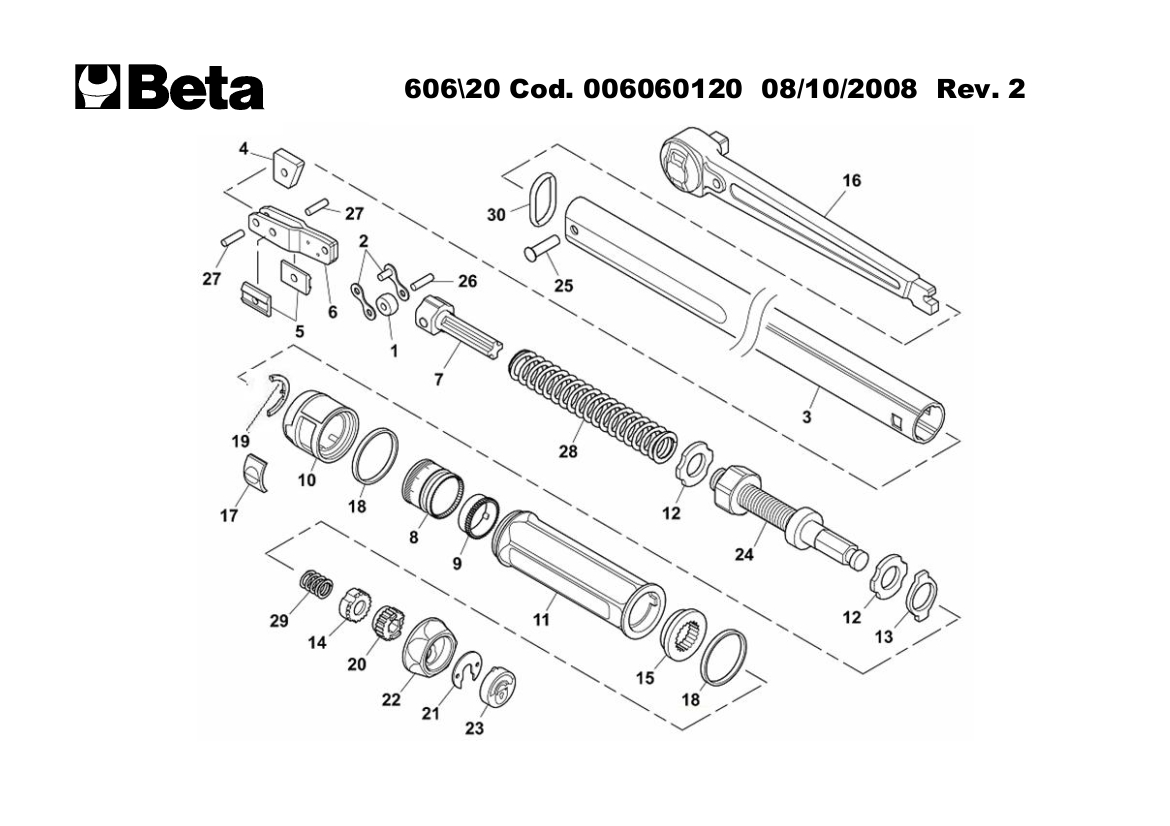 Click-type torque wrenches with reversible ratchets for
