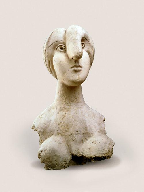"""Pablo Picasso, """"Bust of a Woman (MARIE-THÉRÈSE) (BUSTE DE FEMME [MARIE-THÉRÈSE])"""", BOISGELOUP, 1931 Image via Guggenheim.org"""