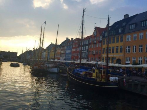 Copenhagen by Night, Photo by Author