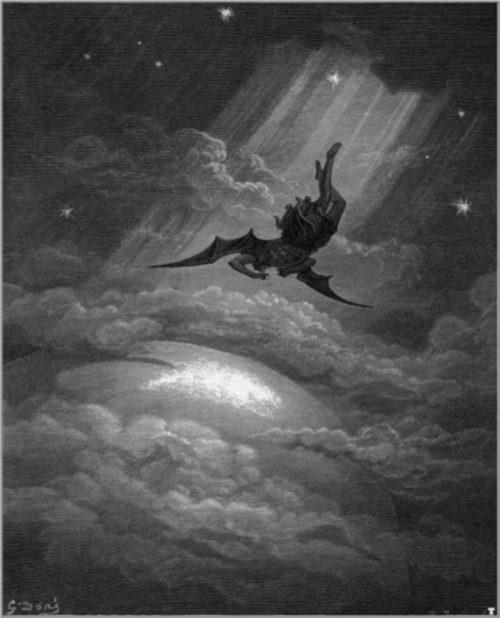 Gustav Doré 'Illustration for Paradise Lost 1866'
